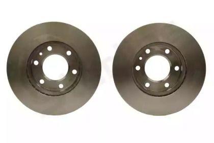 Вентилируемый передний тормозной диск на Фольксваген Крафтер 'STARLINE PB 20455'.