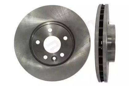 Вентилируемый передний тормозной диск на Рендж Ровер Эвок 'STARLINE PB 20484'.