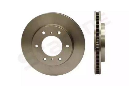 Вентилируемый передний тормозной диск на Митсубиси Л200 'STARLINE PB 20743'.