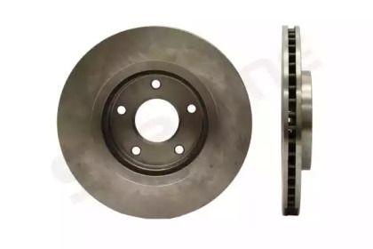Вентилируемый передний тормозной диск на NISSAN X-TRAIL 'STARLINE PB 20755'.