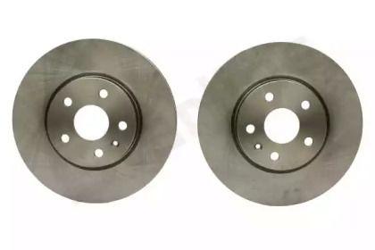 Вентилируемый передний тормозной диск на CHEVROLET CAMARO 'STARLINE PB 20984'.
