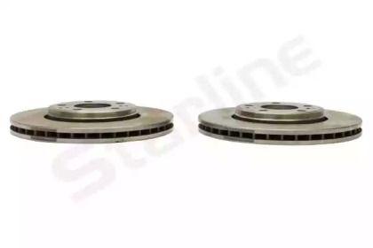Вентилируемый передний тормозной диск на Рено Гранд Сценик 'STARLINE PB 21082'.