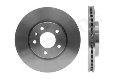 Вентилируемый передний тормозной диск на CHEVROLET ORLANDO 'STARLINE PB 21124'.