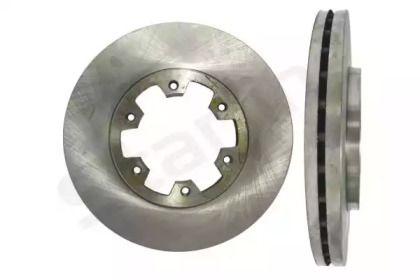 Вентилируемый тормозной диск на Ниссан Террано 'STARLINE PB 2114'.