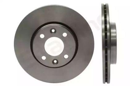 Вентилируемый передний тормозной диск на RENAULT DOKKER 'STARLINE PB 21403'.