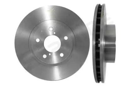 Вентилируемый передний тормозной диск на Субару Легаси Аутбек 'STARLINE PB 2244'.