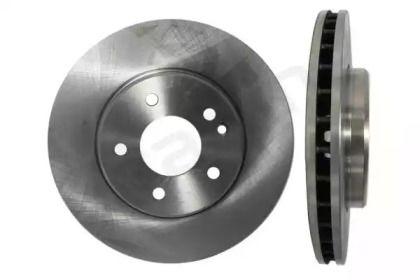 Вентилируемый передний тормозной диск на MERCEDES-BENZ CLC 'STARLINE PB 2420'.