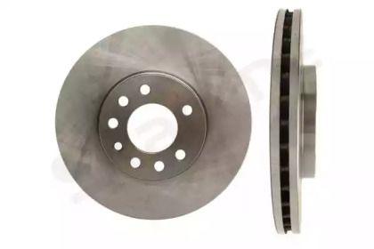 Вентилируемый передний тормозной диск на Сааб 900 'STARLINE PB 2477'.