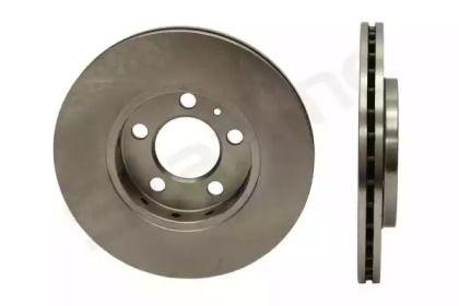 Вентилируемый передний тормозной диск на SKODA RAPID 'STARLINE PB 2479'.