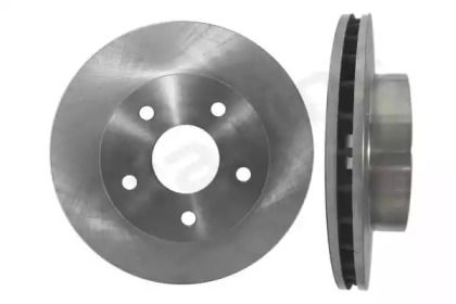 Вентилируемый передний тормозной диск на Джип Гранд Чероки 'STARLINE PB 2490'.