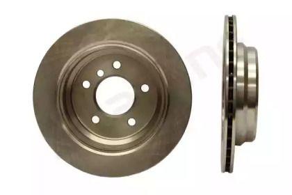 Вентилируемый передний тормозной диск на BMW 5 'STARLINE PB 2497'.