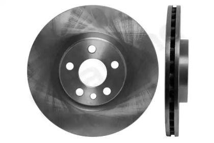 Вентилируемый передний тормозной диск на Пежо Експерт 'STARLINE PB 2523'.