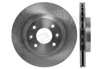 Вентилируемый передний тормозной диск на Рено Логан 'STARLINE PB 2528'.