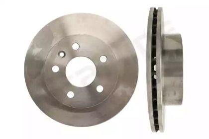 Вентилируемый передний тормозной диск на Мерседес В Класс 'STARLINE PB 2583'.