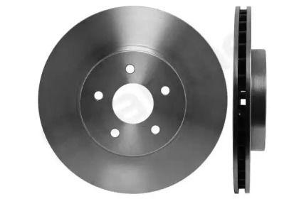 Вентилируемый передний тормозной диск на JAGUAR X-TYPE 'STARLINE PB 2589'.