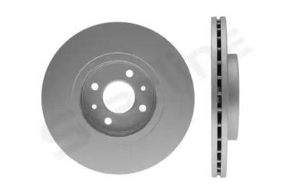 Вентилируемый передний тормозной диск на Рено Сценик 'STARLINE PB 2719C'.