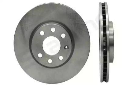 Вентилируемый передний тормозной диск 'STARLINE PB 2724'.