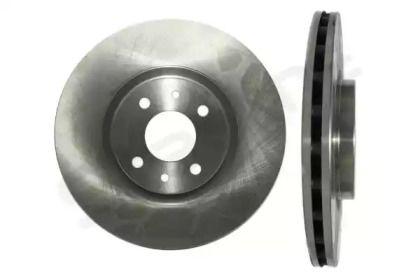 Вентилируемый передний тормозной диск на FIAT MULTIPLA 'STARLINE PB 2761'.