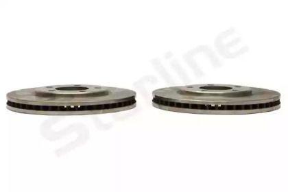 Вентилируемый передний тормозной диск на Додж Караван 'STARLINE PB 2836'.