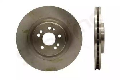 Вентильований передній гальмівний диск 'STARLINE PB 2890'.