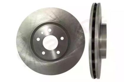 Вентилируемый передний тормозной диск на Лянча Тема 'STARLINE PB 2937'.