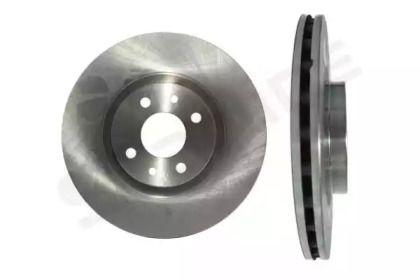 Вентилируемый передний тормозной диск на CITROEN NEMO 'STARLINE PB 2938'.