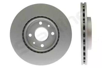 Вентилируемый передний тормозной диск на FIAT FIORINO 'STARLINE PB 2946C'.