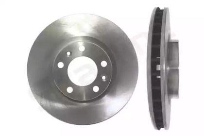 Вентилируемый передний тормозной диск на PEUGEOT 407 'STARLINE PB 2981'.
