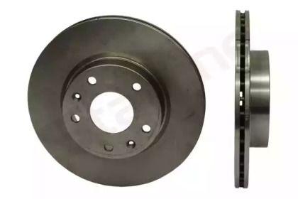 Вентилируемый передний тормозной диск на FREELANDER 'STARLINE PB 4004'.