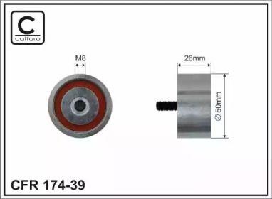 Ролик ременя генератора на MITSUBISHI CARISMA 'CAFFARO 174-39'.