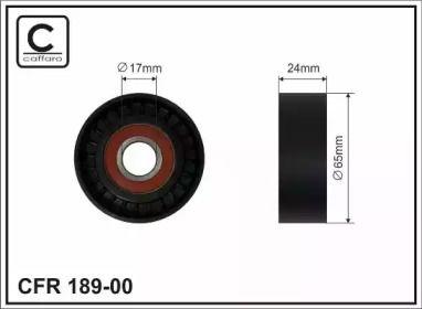 Натяжной ролик ремня генератора на Фольксваген Джетта 'CAFFARO 189-00'.