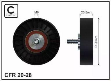 Ролик ремня генератора 'CAFFARO 20-28'.