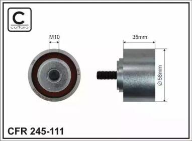 Обводной ролик ГРМ на CHRYSLER PT CRUISER 'CAFFARO 245-111'.