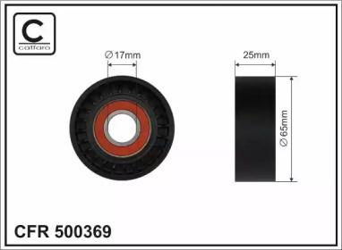 Натяжной ролик ремня генератора CAFFARO 500369.