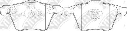 Переднї гальмівні колодки NIBK PN0352.