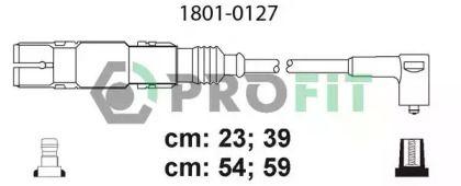 Высоковольтные провода зажигания на SEAT LEON PROFIT 1801-0127.