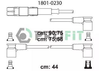 Високовольтні дроти запалювання на Mercedes-Benz G-Class  PROFIT 1801-0230.