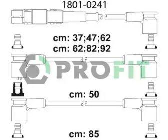 Високовольтні дроти запалювання на Mercedes-Benz G-Class  PROFIT 1801-0241.