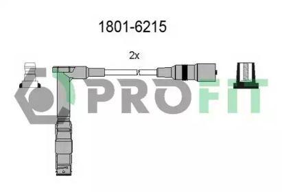 Високовольтні дроти запалювання на Mercedes-Benz W210 PROFIT 1801-6215.