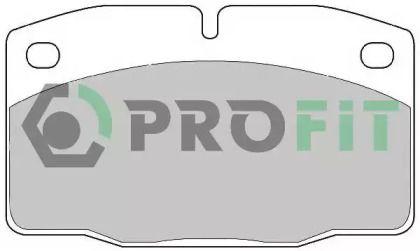 Переднї гальмівні колодки 'PROFIT 5000-0173'.