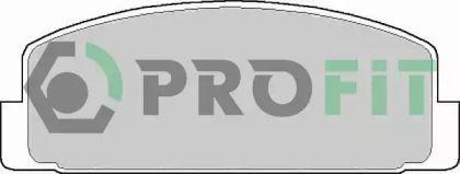 Заднї гальмівні колодки на MAZDA PREMACY 'PROFIT 5000-0372'.