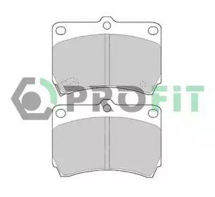 Переднї гальмівні колодки на Мазда Деміо PROFIT 5000-0715.