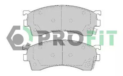 Переднї гальмівні колодки на MAZDA XEDOS 6 PROFIT 5000-0950.