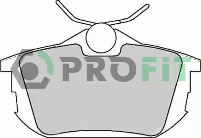 Заднї гальмівні колодки на Мітсубісі Карізма PROFIT 5000-1095.