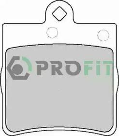 Заднї гальмівні колодки на Мерседес W210 PROFIT 5000-1311.