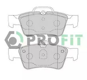 Заднї гальмівні колодки на MERCEDES-BENZ CLS 'PROFIT 5000-1526'.