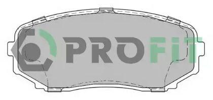 Переднї гальмівні колодки на MAZDA CX-9 PROFIT 5000-2019.