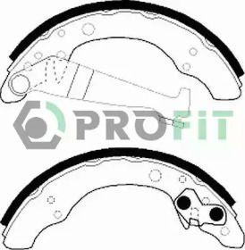 Барабанные тормозные колодки на VOLKSWAGEN PASSAT PROFIT 5001-0150.