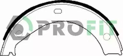 Барабанні гальмівні колодки на БМВ 7  PROFIT 5001-0272.
