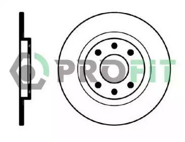 Передний тормозной диск 'PROFIT 5010-0051'.